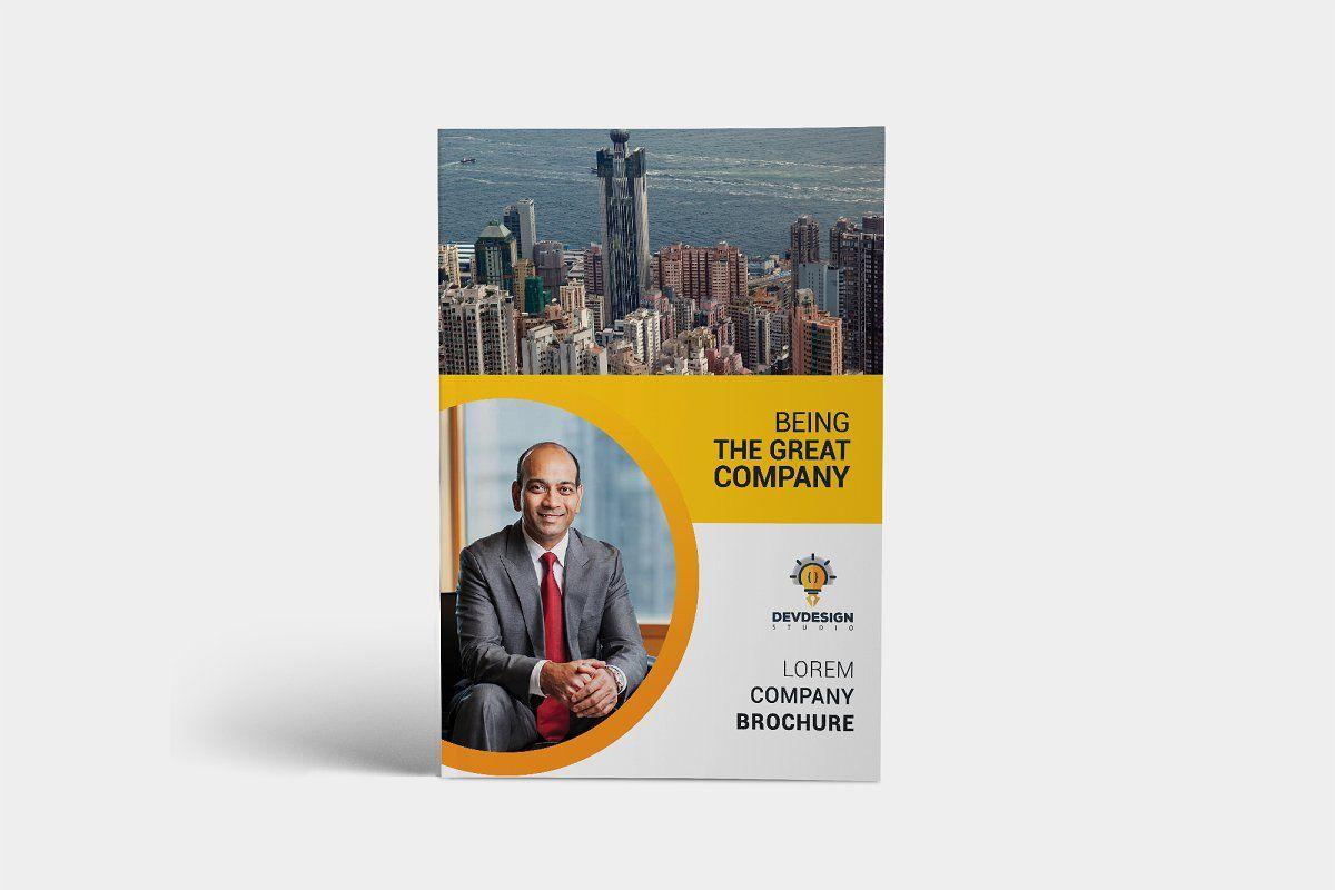Creative Corporate Brochure Design Sponsored Rating
