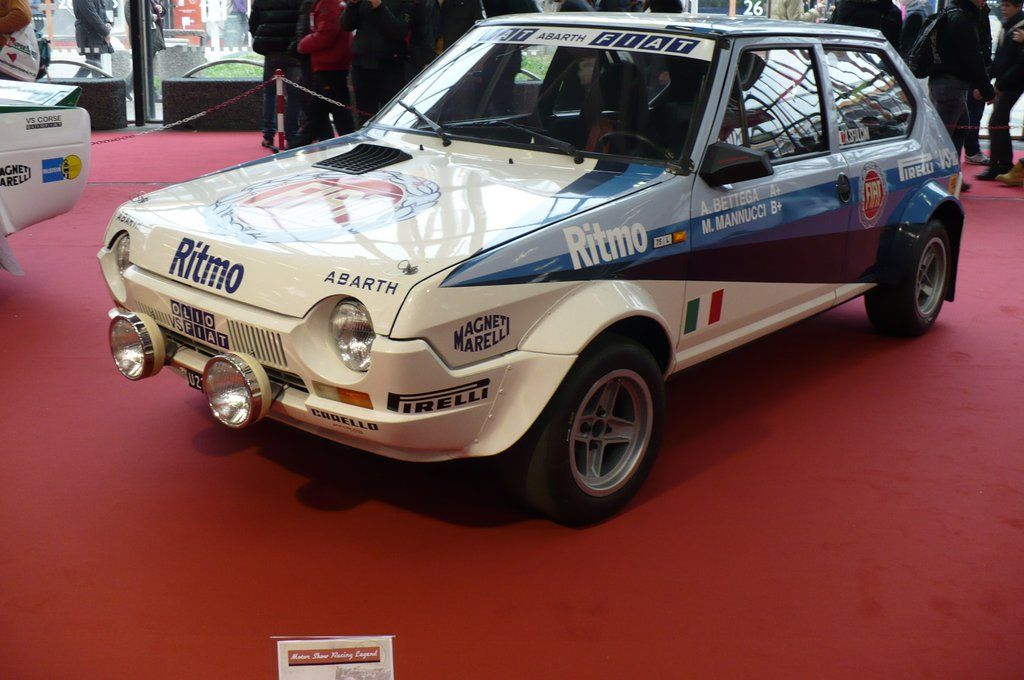 fiat ritmo abarth rally fiat racing cars pinterest fiat rally and rally car. Black Bedroom Furniture Sets. Home Design Ideas
