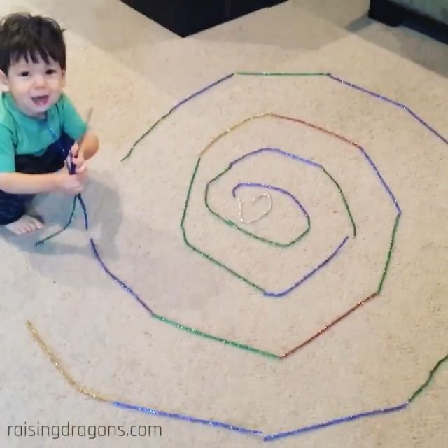 Photo of Pick-Up Pipe Cleaners * ages 1-3 ⋆ Raising Dragons