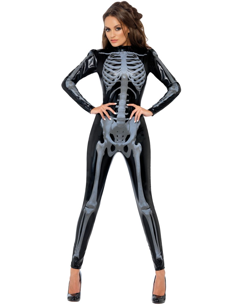 ebec65f4567 Skeleton Catsuit Womens Costume...Paint face as sugar skull | Hada's ...