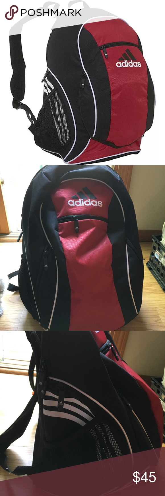 c639c7988027 Adidas Soccer Backpacks With Ball Pocket- Fenix Toulouse Handball