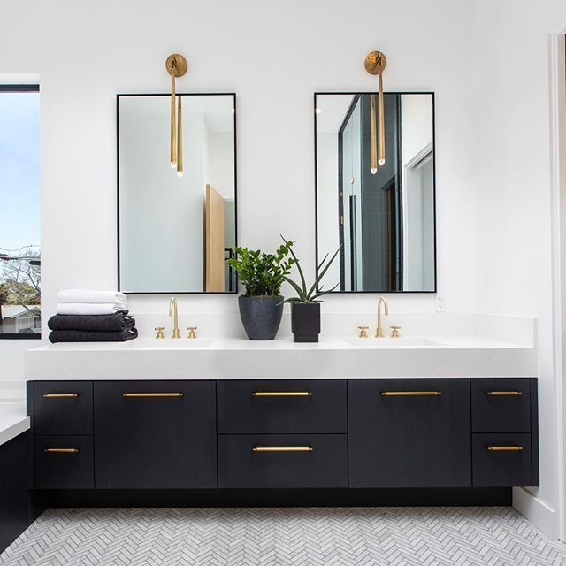 Top 10 Double Bathroom Vanity Design Ideas
