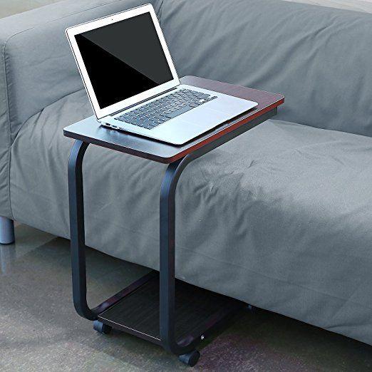 HOMFA Laptoptisch U Form Notebook Tisch PC Tisch Notebook
