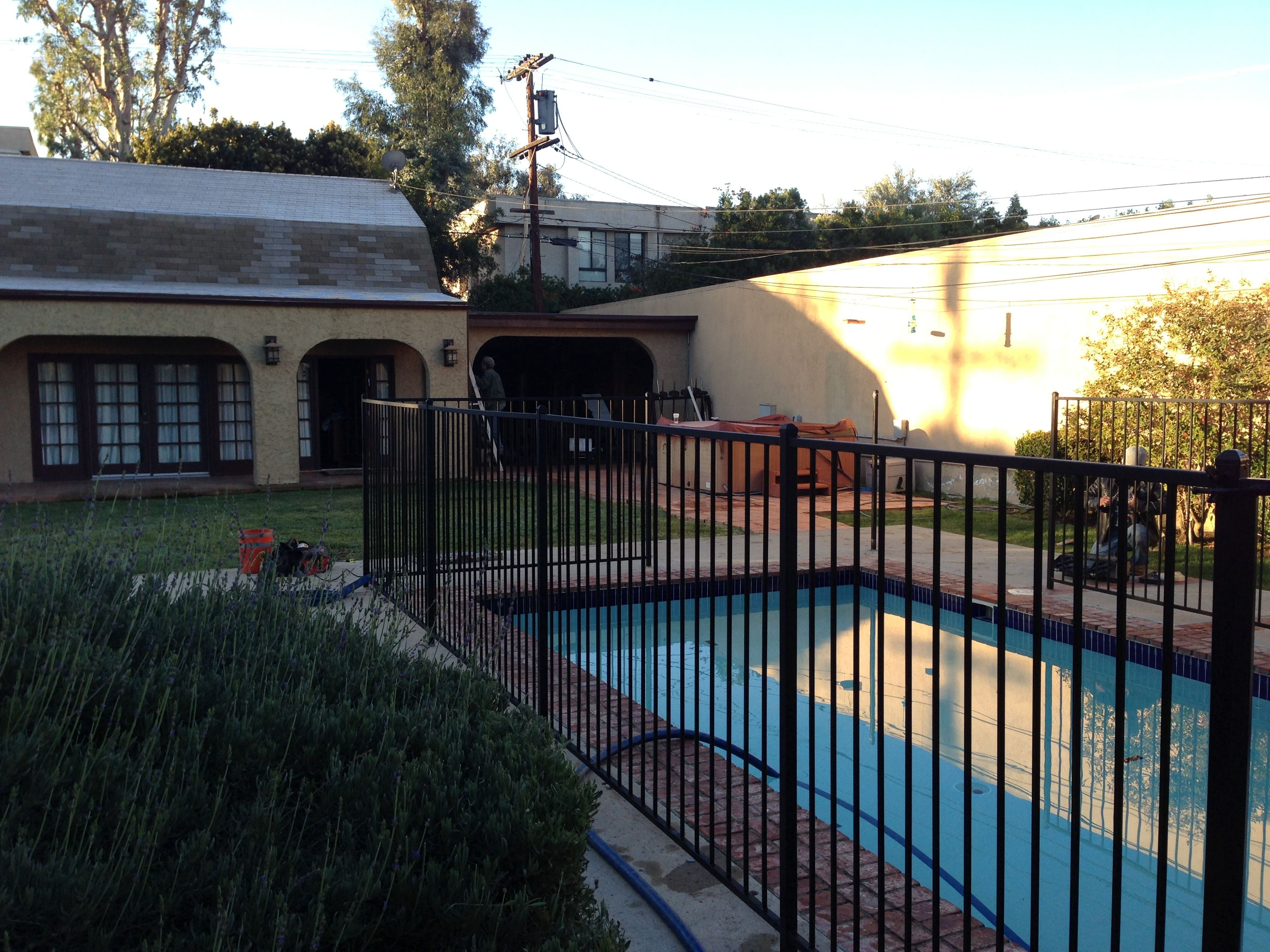 Clientu0027s Backyard Swimming Pool Before Mystic Water Gardens Came In To  Build A ...