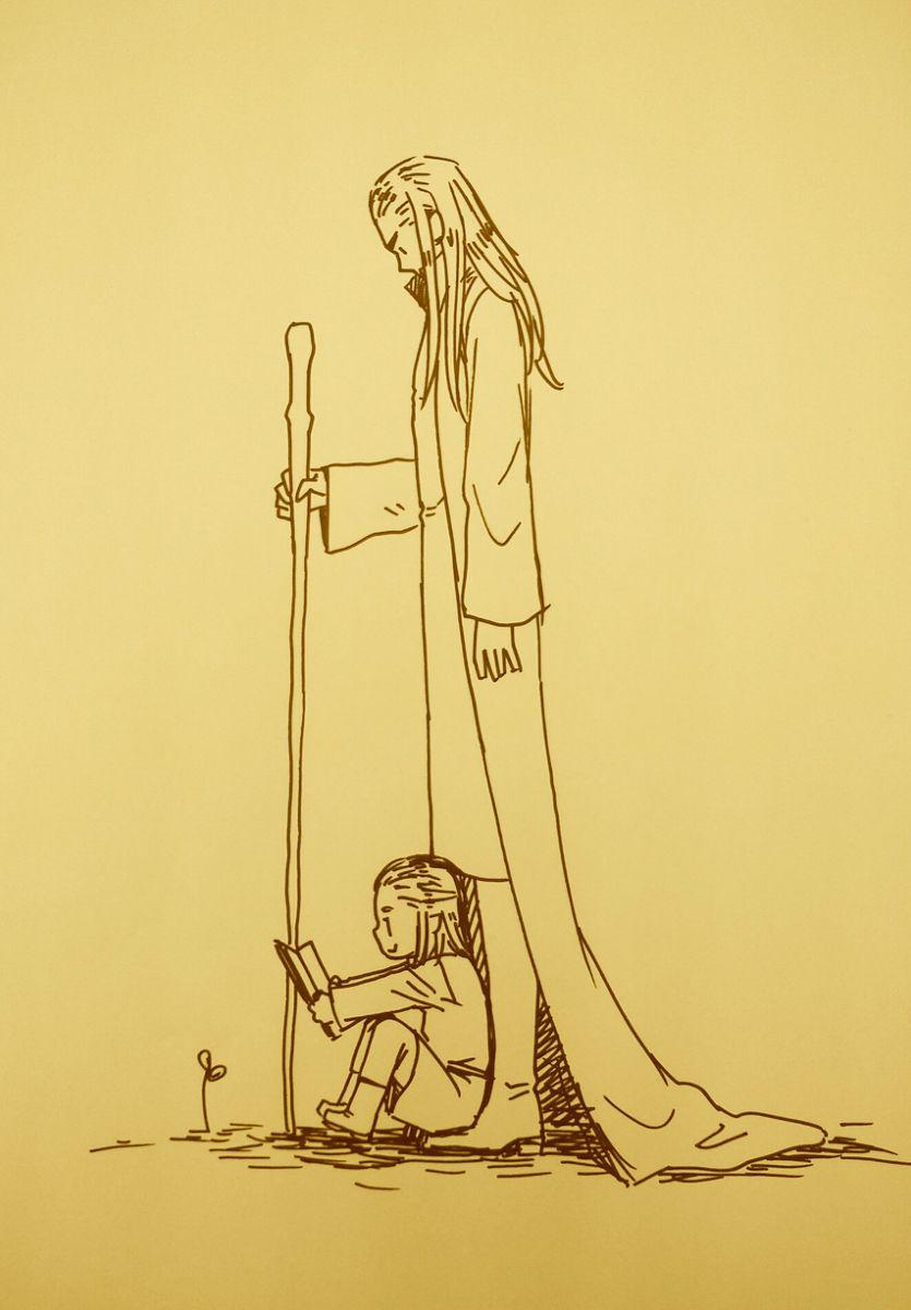 Thranduil. Legolas. Elfos. Elves. The hobbit. El hobbit. Dibujos ...