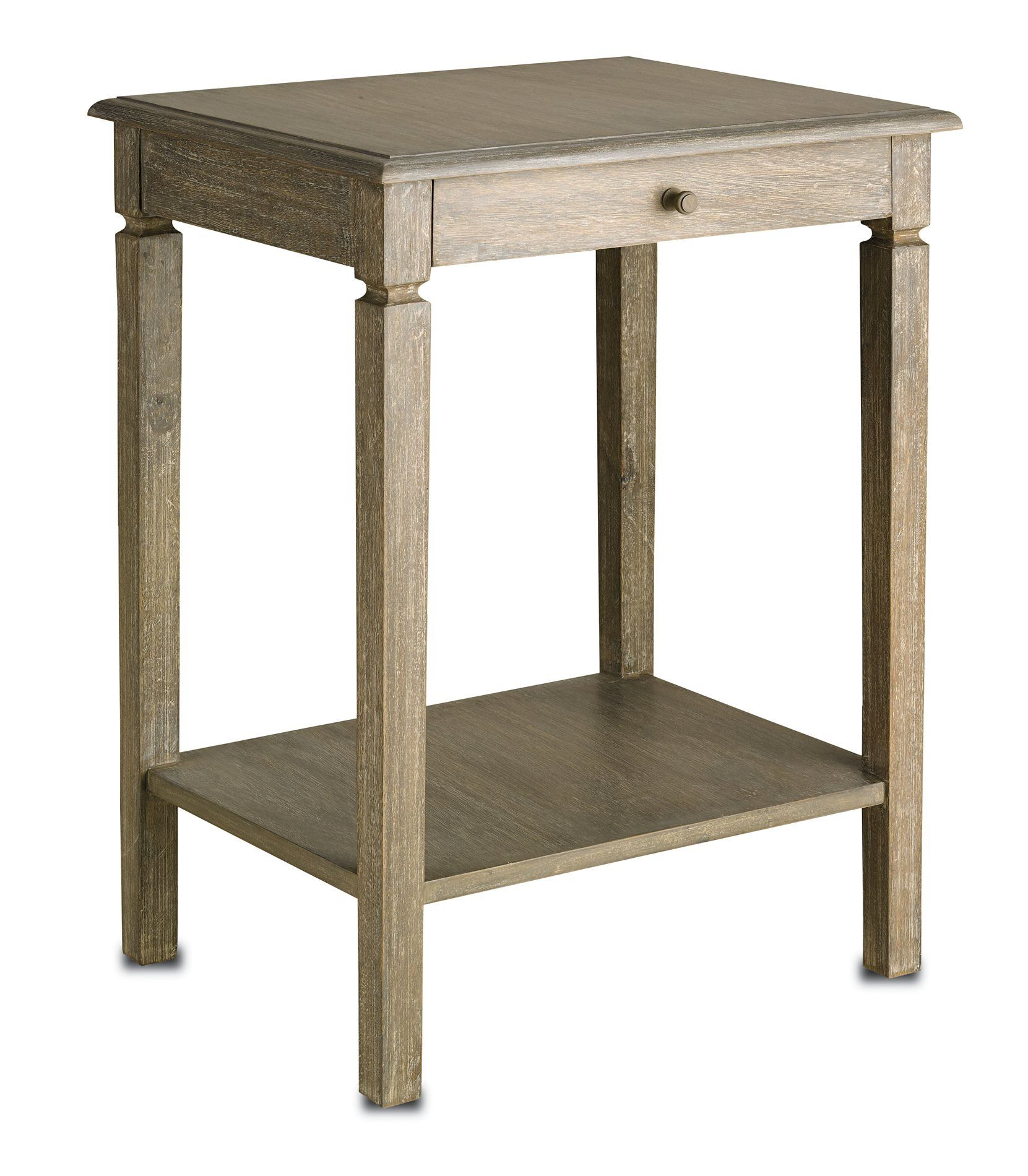 Currey And Company 3141 Walton Traditional Side Table Cnc Height 30 Width 22 Depth 18
