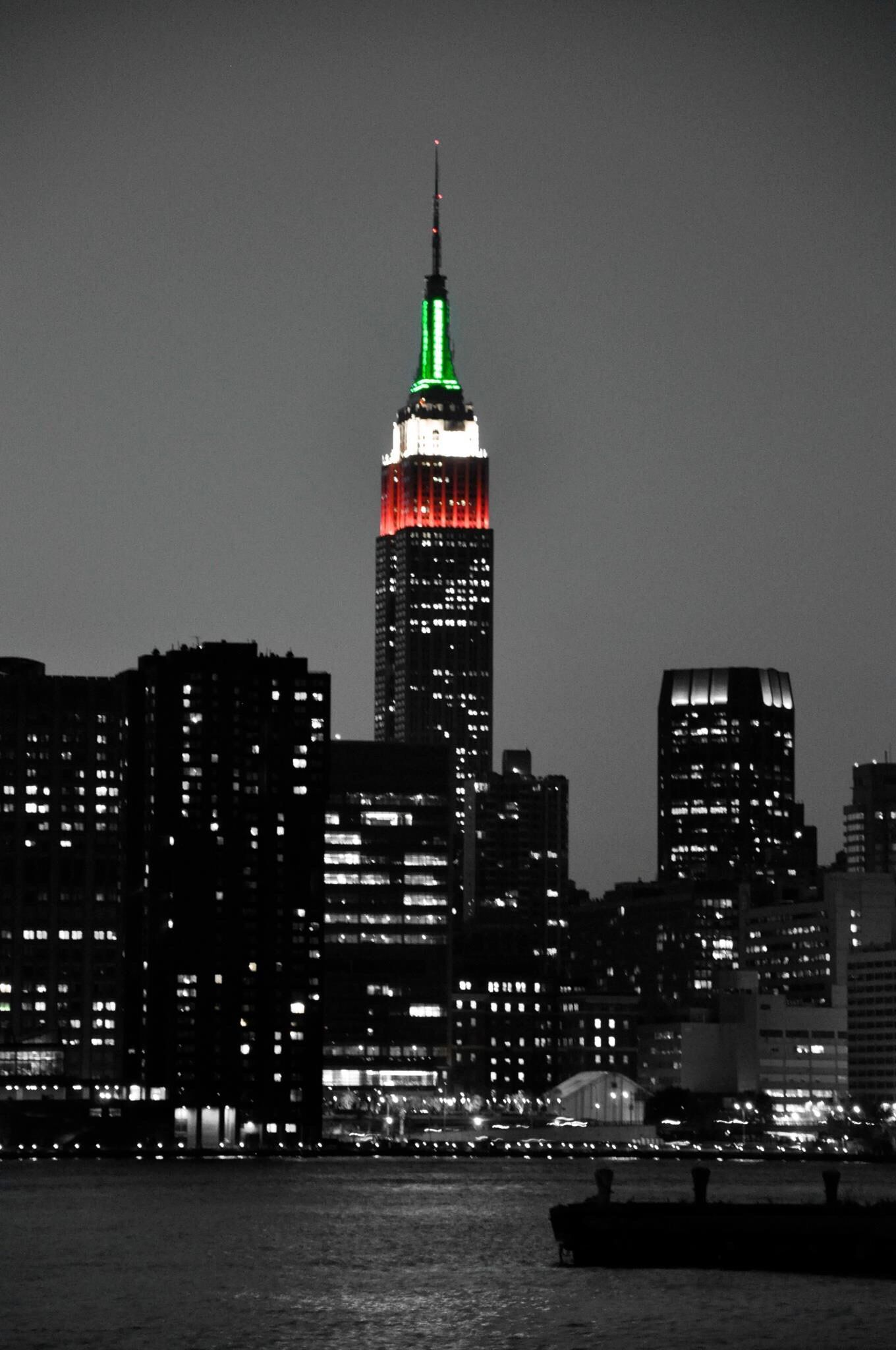 Empire State Building Columbus Day Photo Empire State Building Photo Service