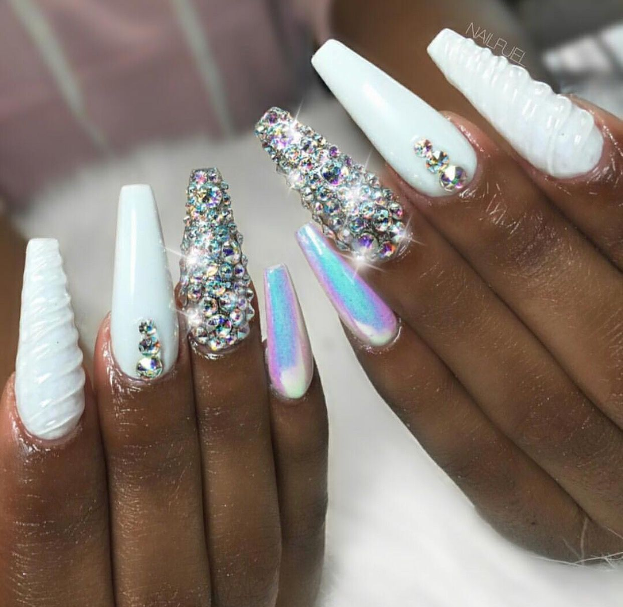 Hair,Nails,And Style @nailFuel @Shining Nails | nails | Pinterest ...
