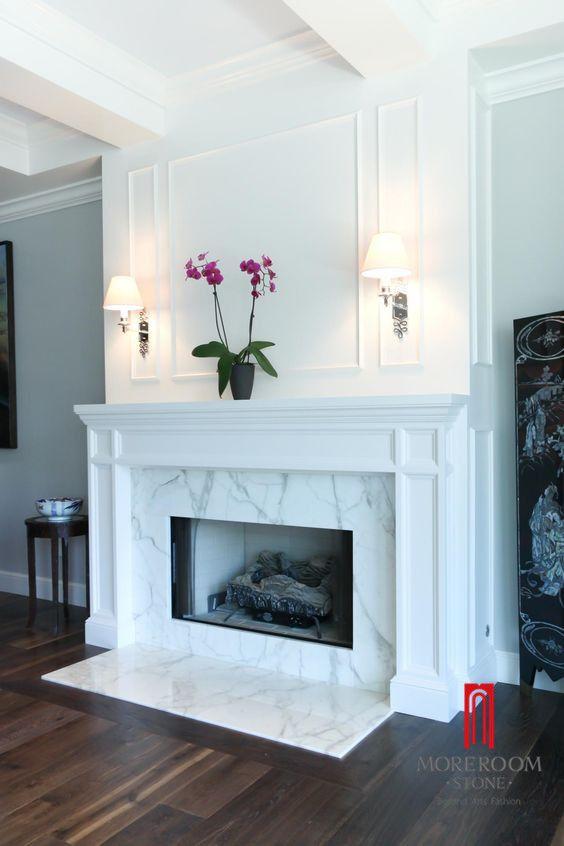 Marble Fireplace  Foshan Moreroom Stone Co.,Ltd Aggie Chan Tel:6-13923220432 Email:sales04@moreroomstone.com