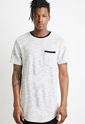 Reverse French Terry Tee | Forever 21 Men - 2000052709