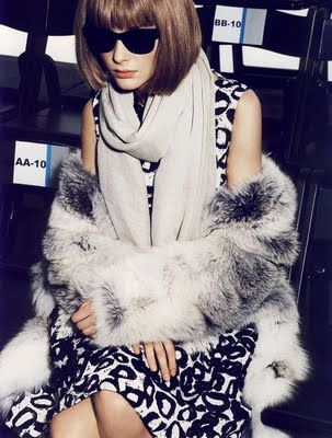 Anna Wintour - The ultimate fashion authority.