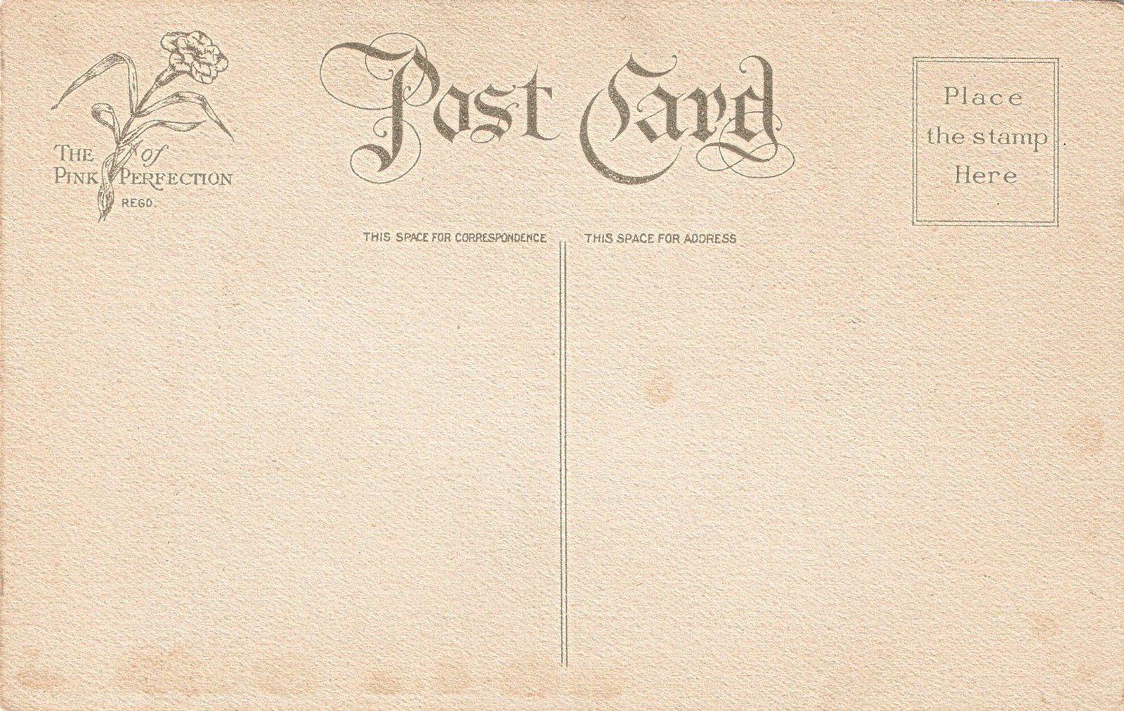 Открытки почтовые старинные