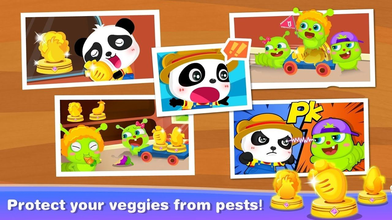 Little Panda Math Farm Babybus Free Online Games For Kids Baby Panda Online Games For Kids Games For Kids Little Panda