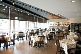 Large Room Of Meridian Restaurant Winston Salem Nc The