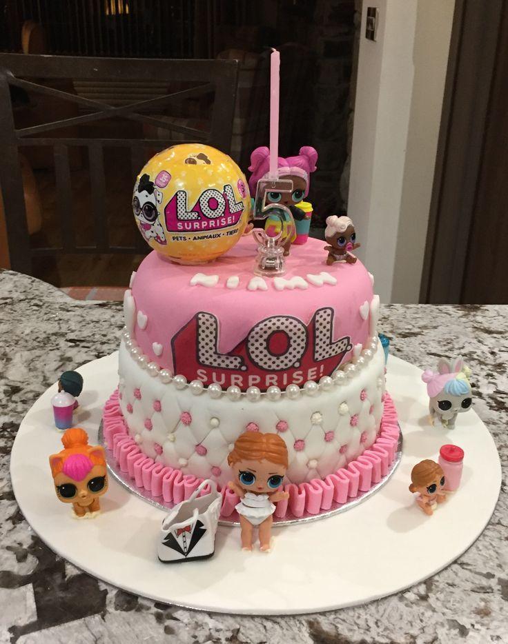LOL Geburtstagstorte Funny birthday cakes, Doll birthday