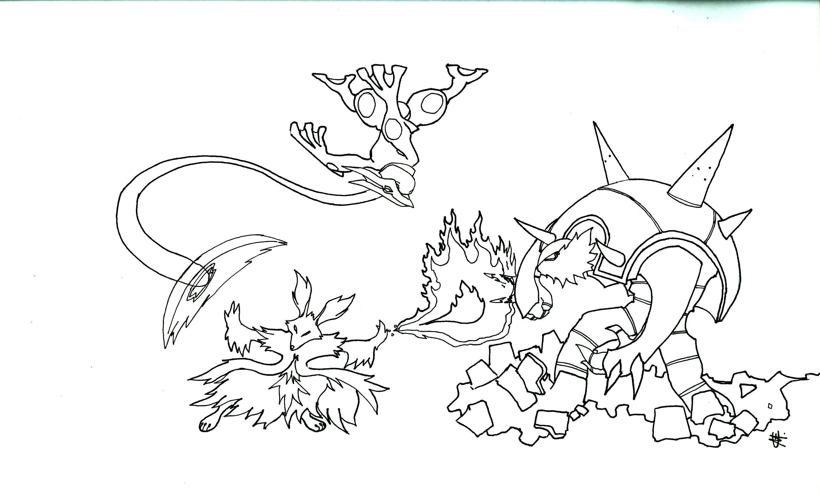 Mega Evolution Pokemon Coloring Pages Pokemon Coloring Mega