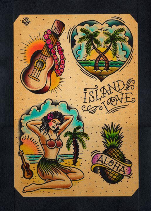 Traditional Tattoo Flash Love Google Search Metallic Tattoos