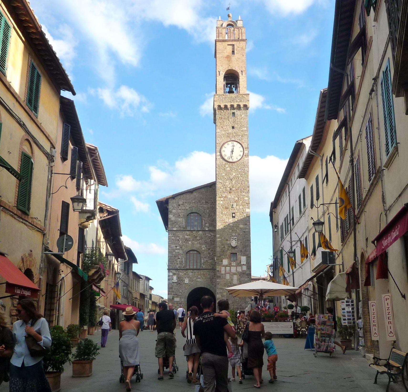 Montalcino, Siena, Tuscany