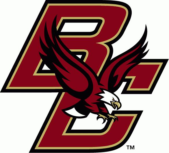 Boston College Eagles Logo Png 585 530 College Football Logos College Hockey Boston College Eagles