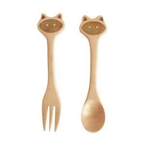 Cat Fork and Spoon
