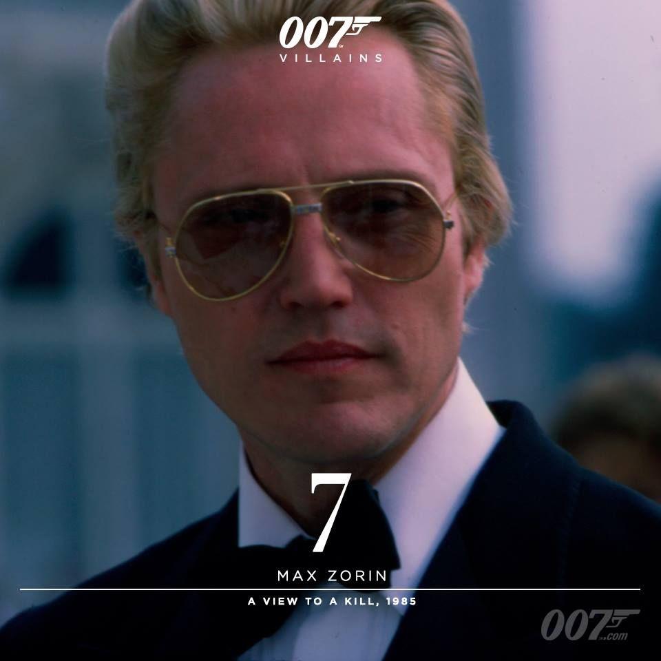 1985 A View To Kill Bond Movies 007 James Bond Christopher