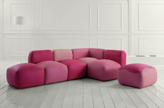 Kivas Modular Couch by Karim Rashid | samanthas room | Pinterest ...