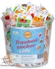Traubenzucker Lolly Frigeo Lutscher