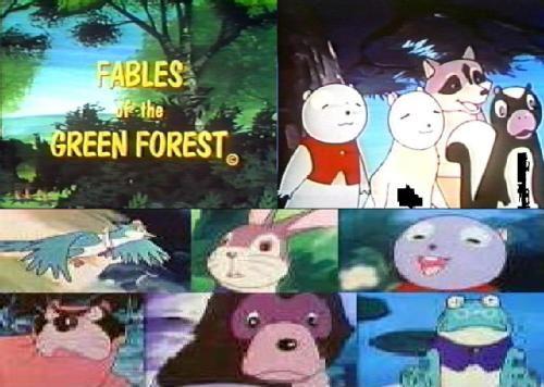 Siempre en el bosque...