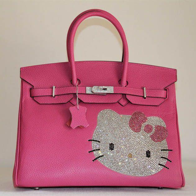 Official Hermes Birkin Hello Kitty 35Cm Togo Leather Bag Peach Hk0001 Hot  Sales DP309627 a7340ec0dcaa1
