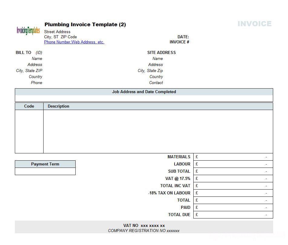 Free Invoice Template Microsoft Word Mac Microsoft Word