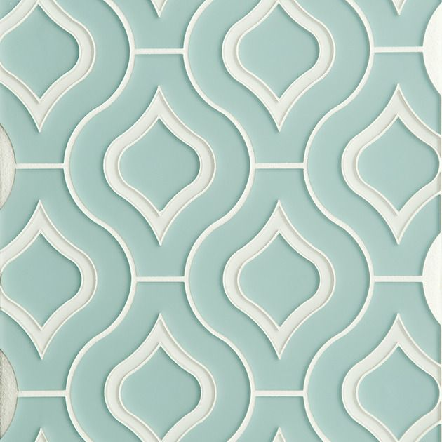 Moroccan Style Glass Tile From Edgewater | Decor Advisor