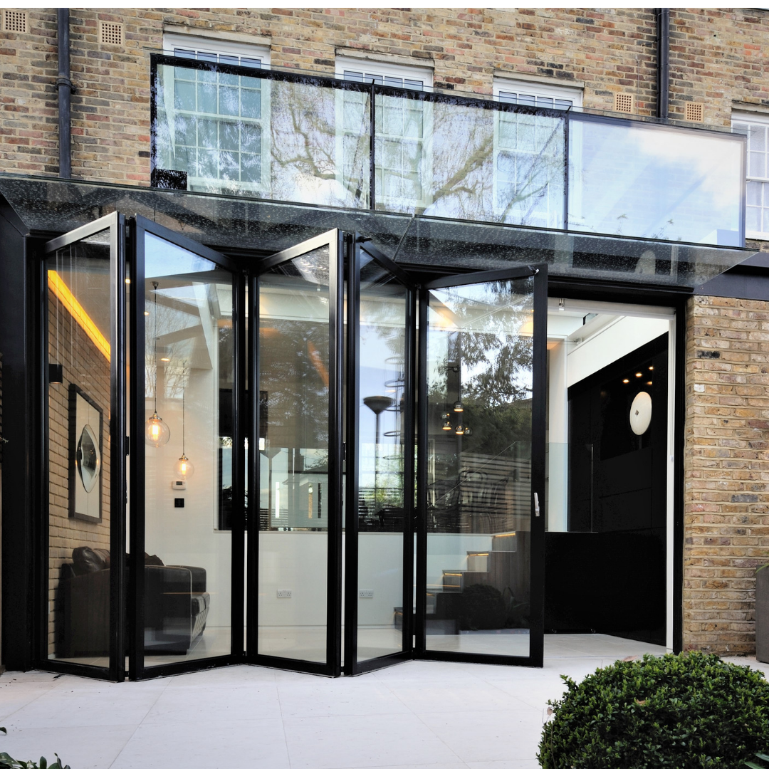 Sieger Bifolding Doors Were Installed To A Contemporary