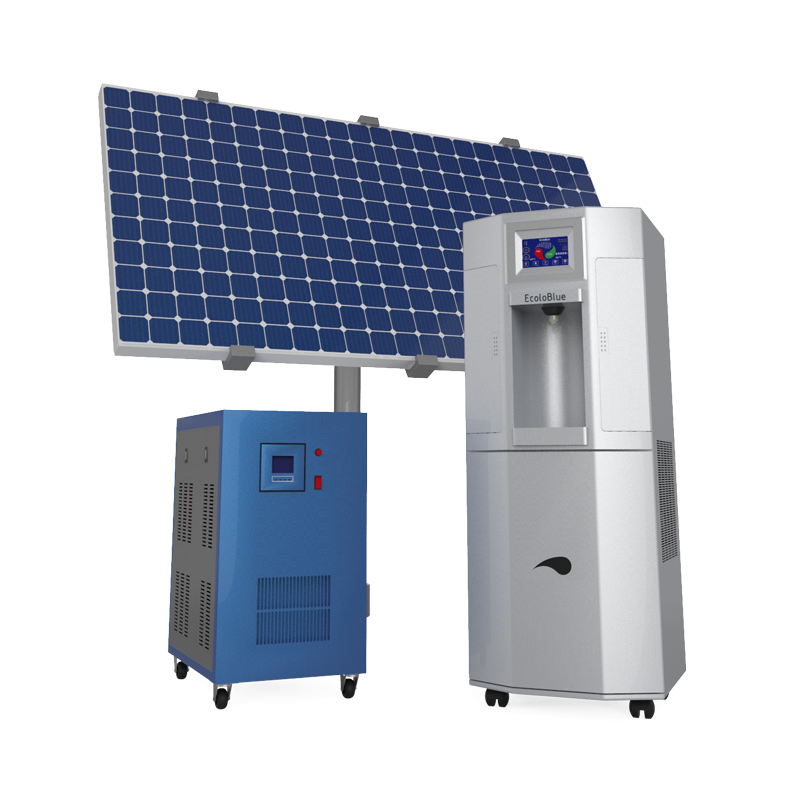Shop powered by EcoloBlue Atmospheric water generator