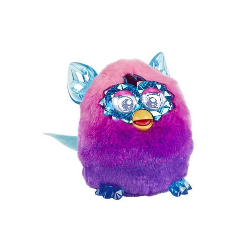 Furby Boom Crystal Series Figure Pink To Purple