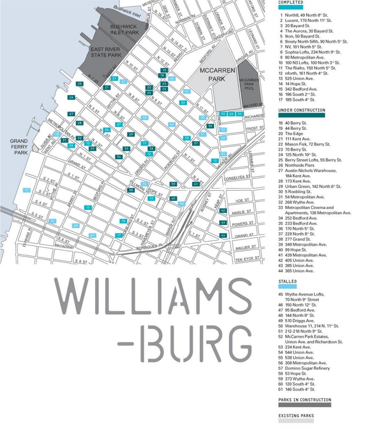 map of williamsburg brooklyn ny Williamsburg Brooklyn Map Map Of Williamsburg Brooklyn Ny New map of williamsburg brooklyn ny