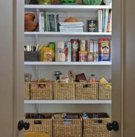 pantry, organized pantry, kitchen organization, organized kitchen
