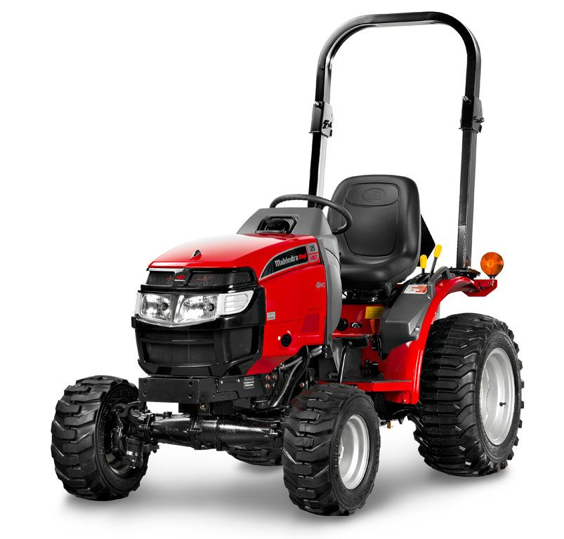 Mahindra Usa Offers Their Max 25 Series Of Subcompact Tractors Each Model In The Line Features A Full Lengt Sub Compact Tractors Small Garden Tractor Tractors