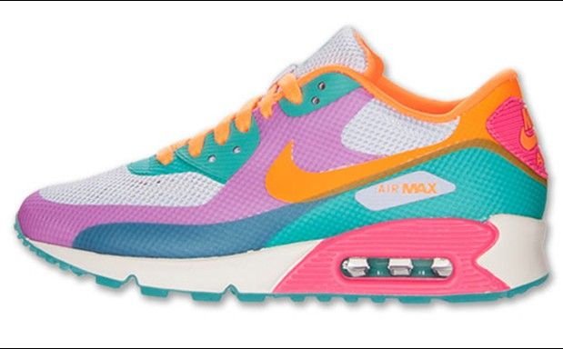 "Nike WMNS Air Max 90 Hyperfuse ""Multicolor"" (Purple Volt"