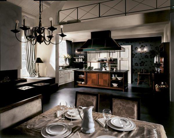 cucina di lusso da martini mobili | design- arredamenti, ville ... - Cucina Di Design Armadio Di Lusso