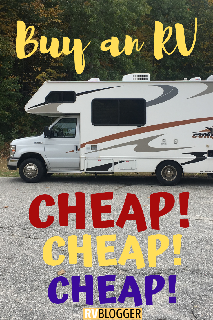How To Get A Free RV