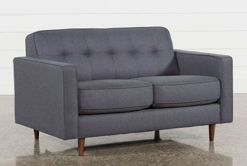 London Dark Grey Twin Plus Sleeper Sofa in 2020 Small