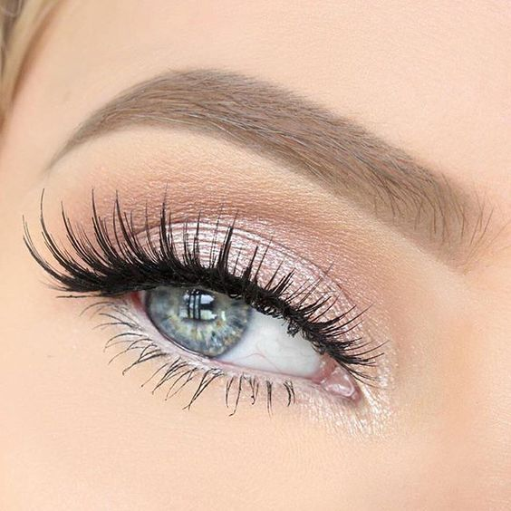 Fashion Beautiful And Style Image On We Heart It Prom Makeup Blue EyesLight