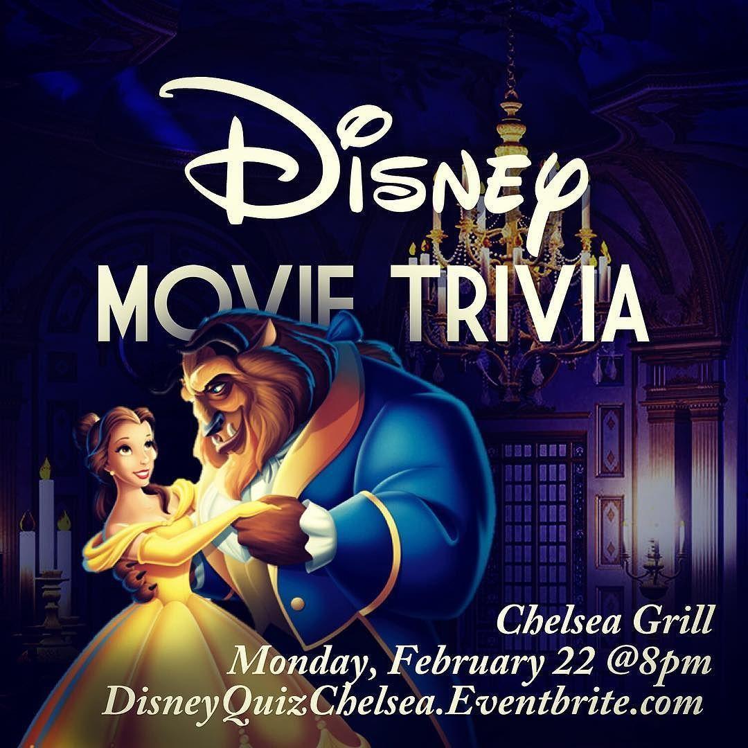 Disney #Movie #Trivia at Chelsea Grill of #HellsKitchen
