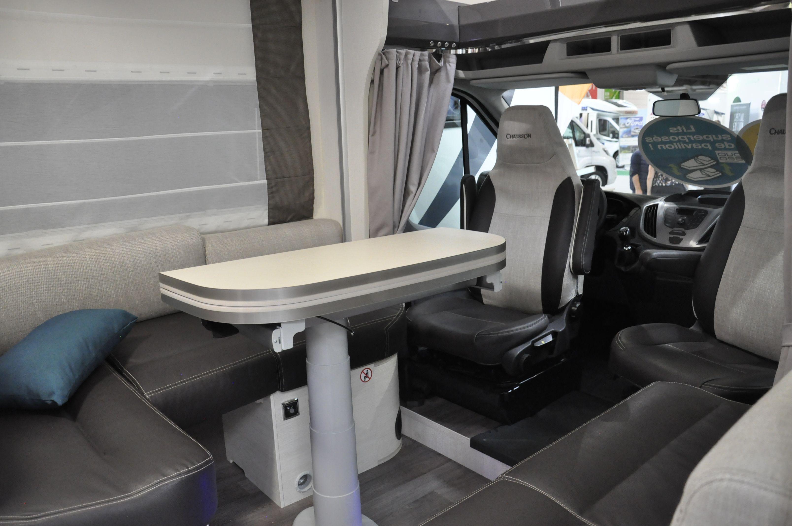 Profilé Chausson Duo bed 716 Marque moteur Ford Intérieur