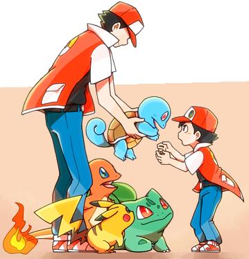 Gcea Kanto Pokebank Pokemon Trainer Red Pokemon Red Pokemon