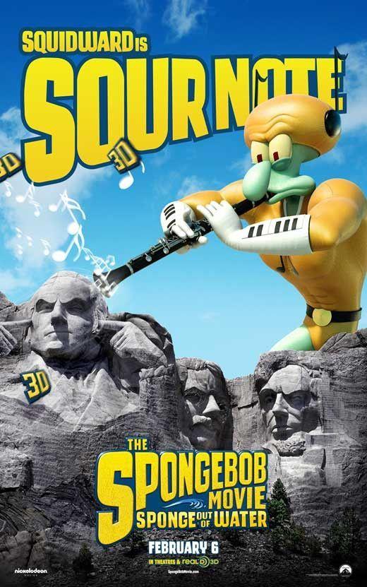 The Spongebob Movie Sponge Out Of Water 11x17 Movie Poster 2015 Spongebob Water Movie Spongebob Squarepants