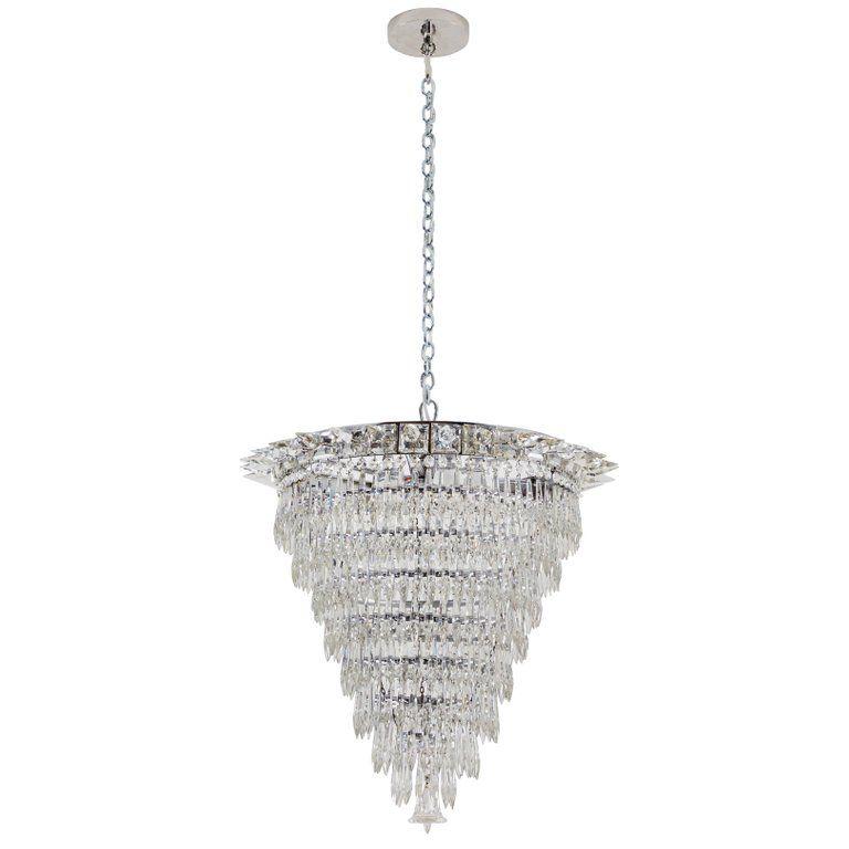 Art Deco Crystal Chandelier Chandelier Chandelier Pendant