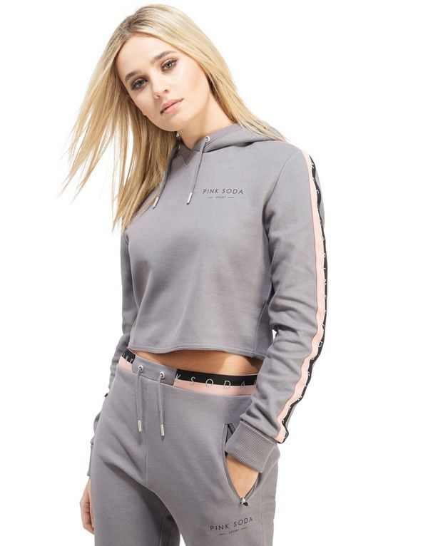 Pink Soda Sport Boxy Crop Overhead Hoody   〰 Workout Clothes ... 8682501d255