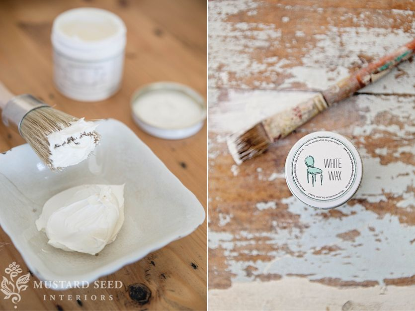 White Wax | Miss Mustard Seeds Milk Paint