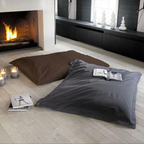 coussin de sol gris soft maison du monde pinterest. Black Bedroom Furniture Sets. Home Design Ideas